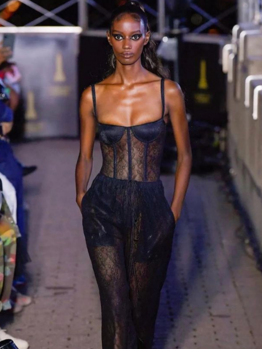 modelling at NYFW