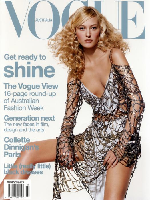 Liisa Winkler Vogue Magazine Canadian Supermodel